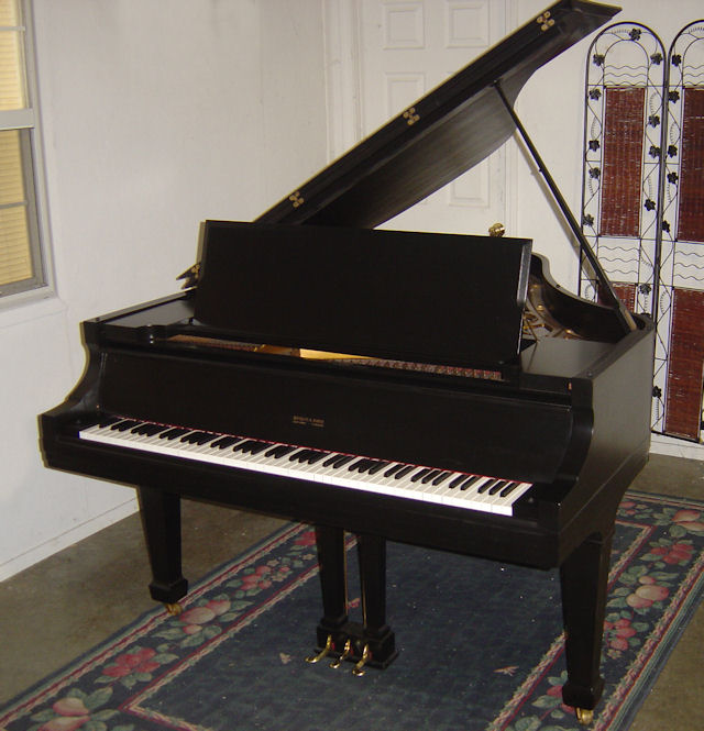 Size of baby grand piano home design for Size of baby grand piano
