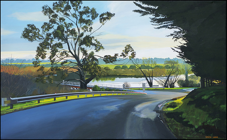 David Lake - Glover Gumtree near Late Afternoon Lane 51x82