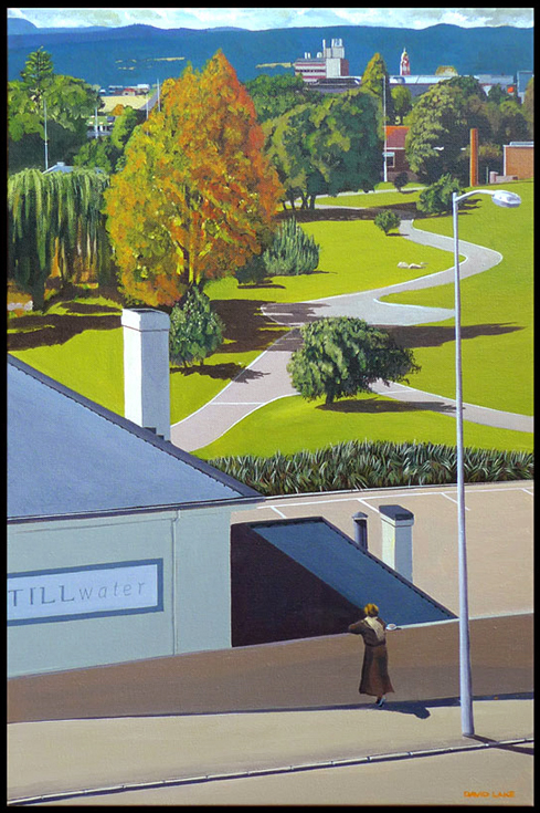 David Lake - Pathways 60x40cms